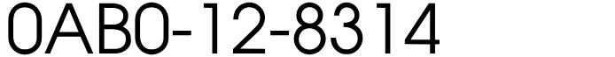 良番フリーダイヤル語呂合わせ0AB0-12-8314