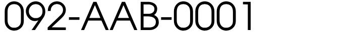 福岡県福岡市南区固定電話良番:激安!No1!092-aab-0001